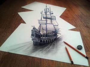 Şaşırtan 3D Çizimler