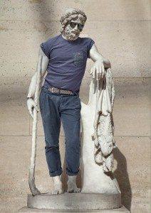 hipster heykel