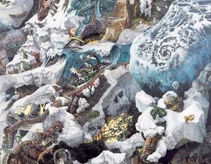 Ikeda Manabu'nun Akrilik Kalemle İnanılmaz Sanatı